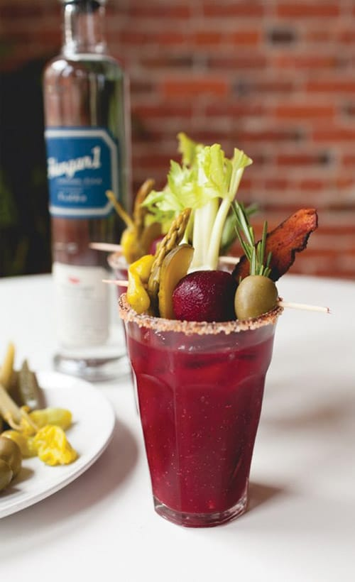 Hangar One Turn up the Beet Bloody Mary Recipe