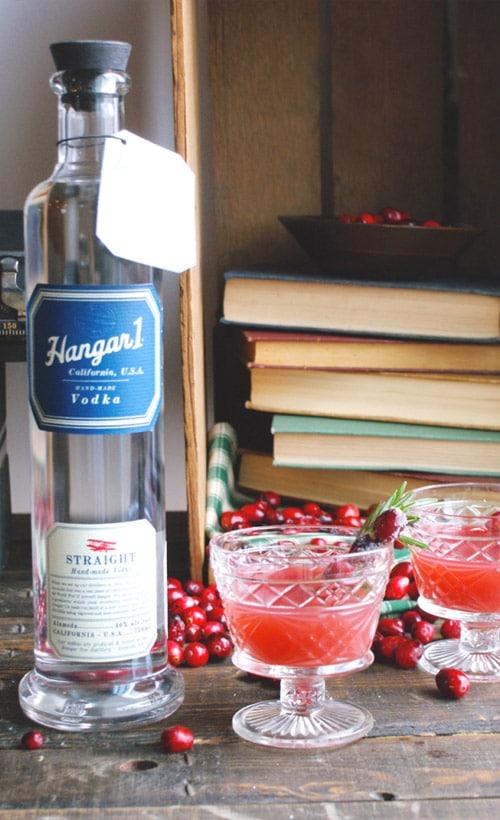 Hangar One Cranberry Citrus Cocktail Recipe