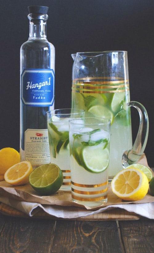 Hangar One Vodka Mint Limeade Recipe