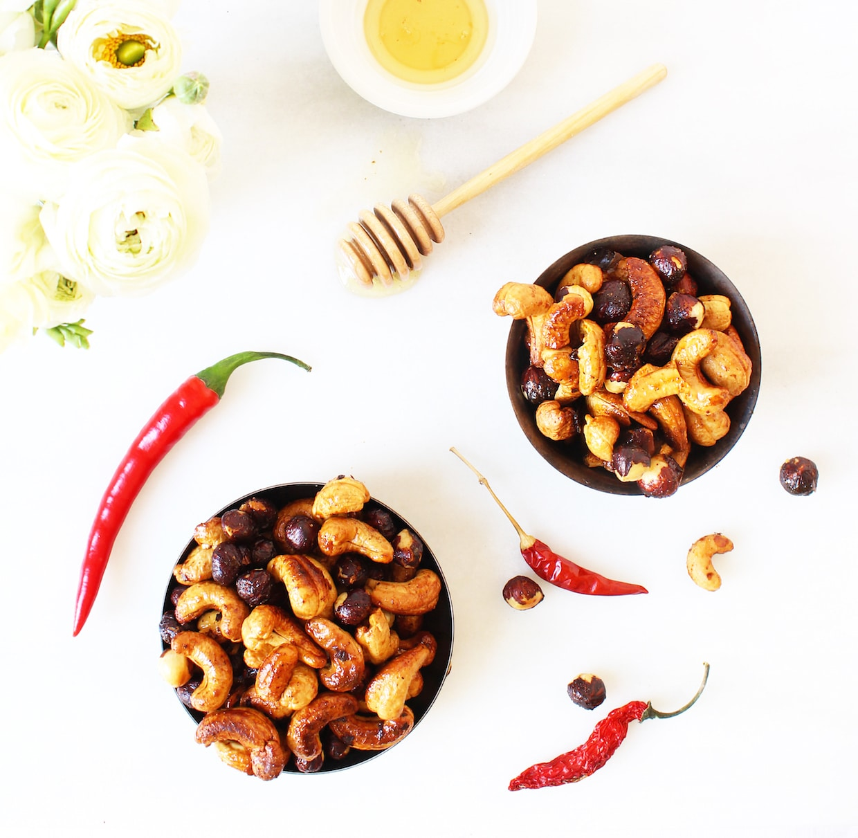 sweet-and-spicy-roasted-nuts