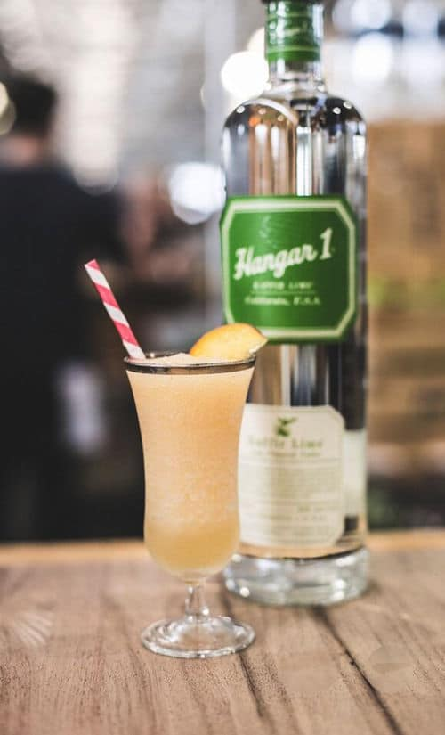 Hangar One Lime & White Peach Swizzle Recipe