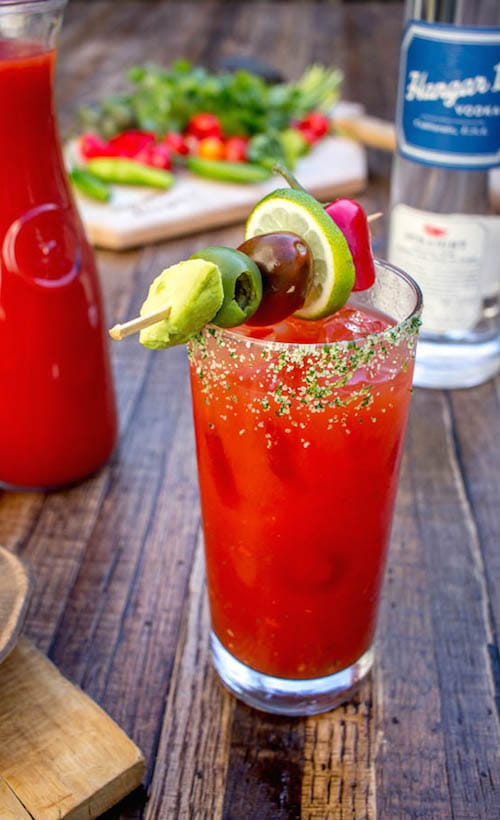 Hangar One California Fresh Bloody Mary Recipe