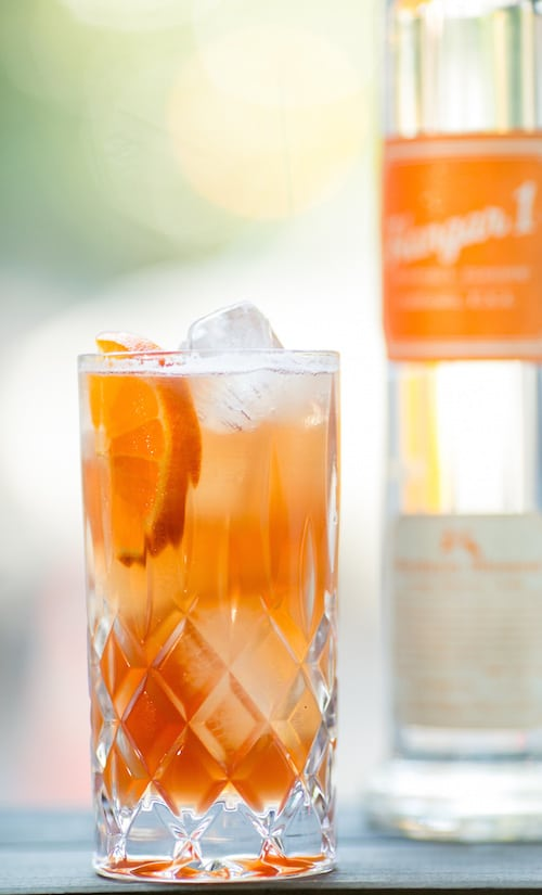Hangar One Mandarin Cooler Recipe