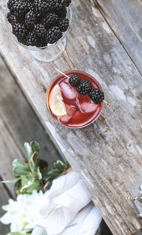 Hangar One Blackberry & Black Tea Recipe