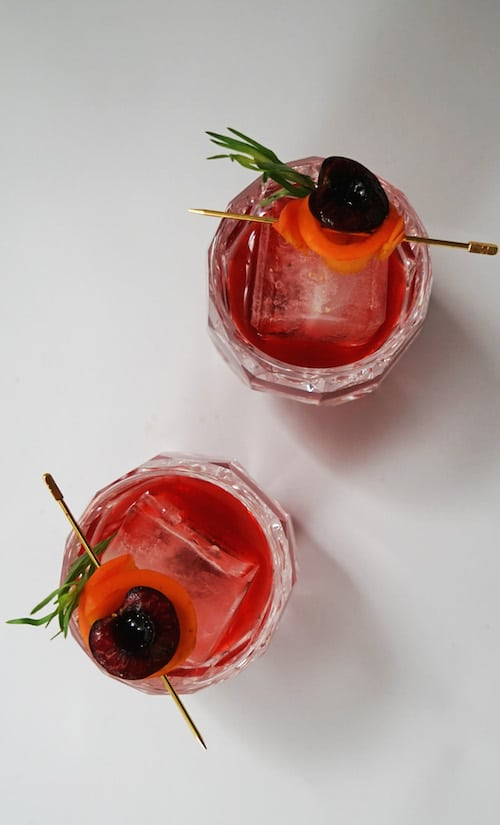 Hangar One Stone Fruit Vodka Old Fashioned Recipe
