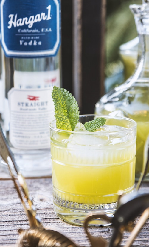 Hangar One Honeydew & Mint Recipe