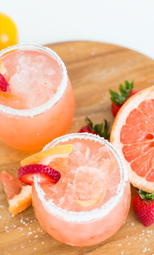 Hangar One Strawberry Grapefruit Salty Dog Recipe