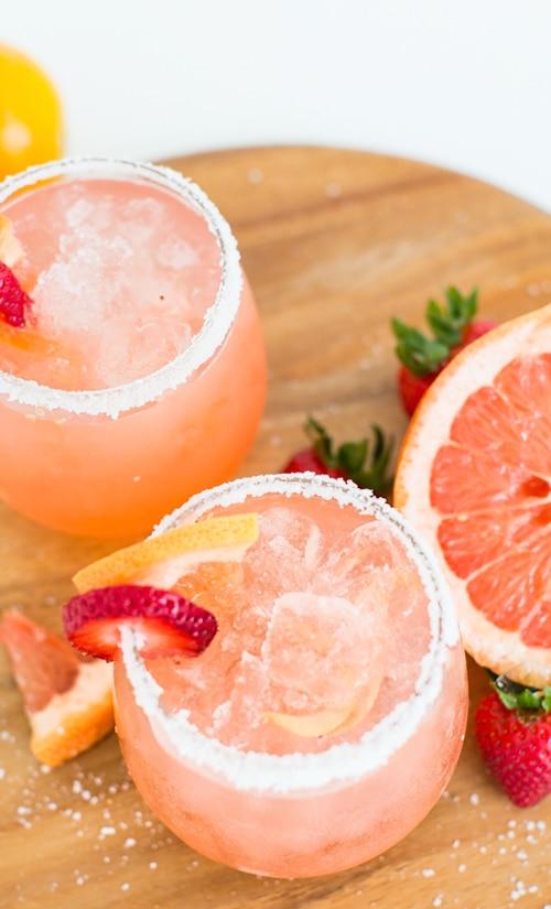 Hangar One Strawberry Grapefruit Salty Dog Recipe