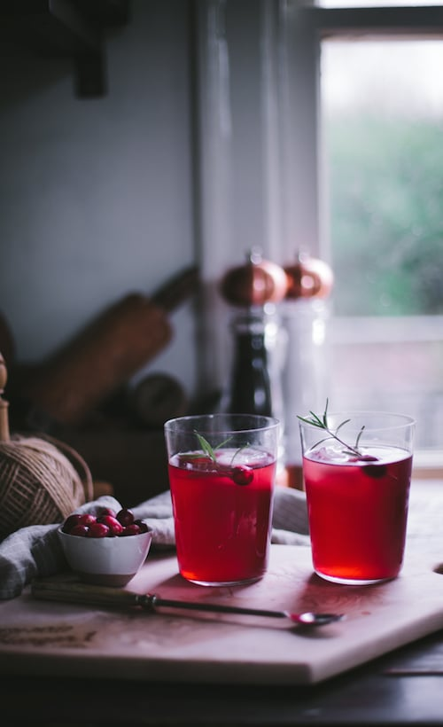 Hangar One Cran-Raspberry Sparkler Recipe