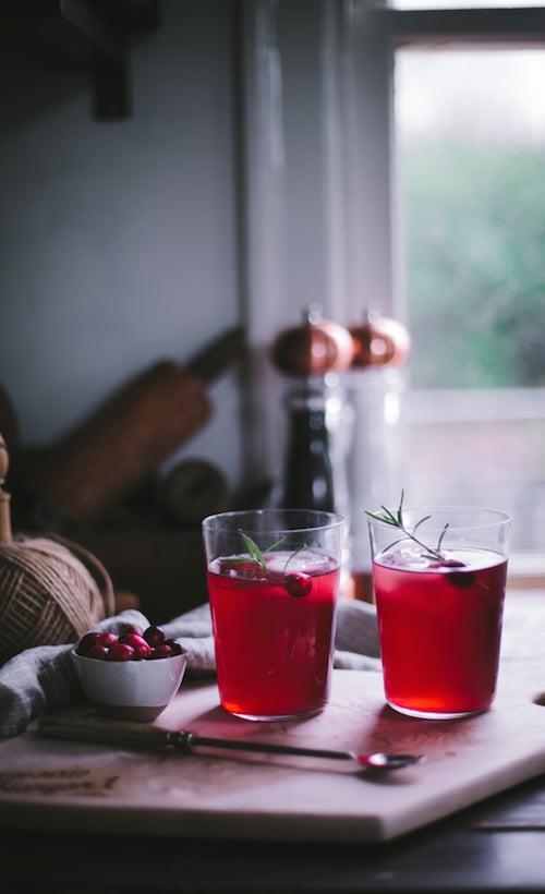 Hangar One Cran-Raspberry Sparkler Recipe