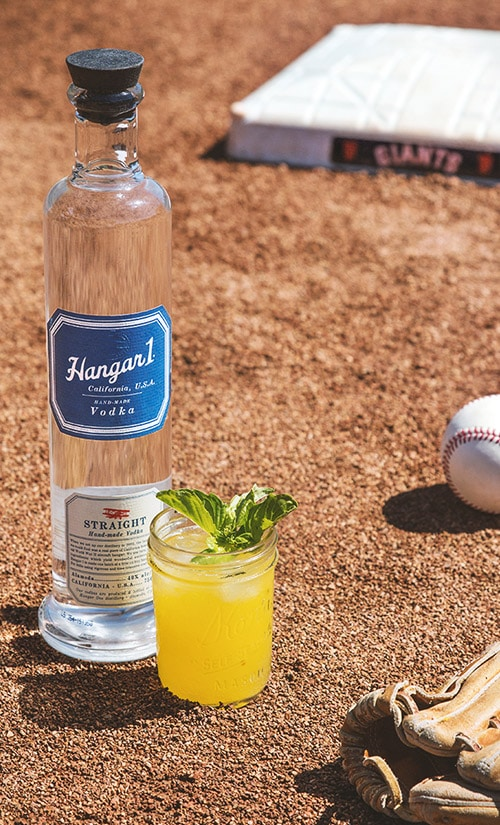 Hangar One Batter Up Basil Recipe
