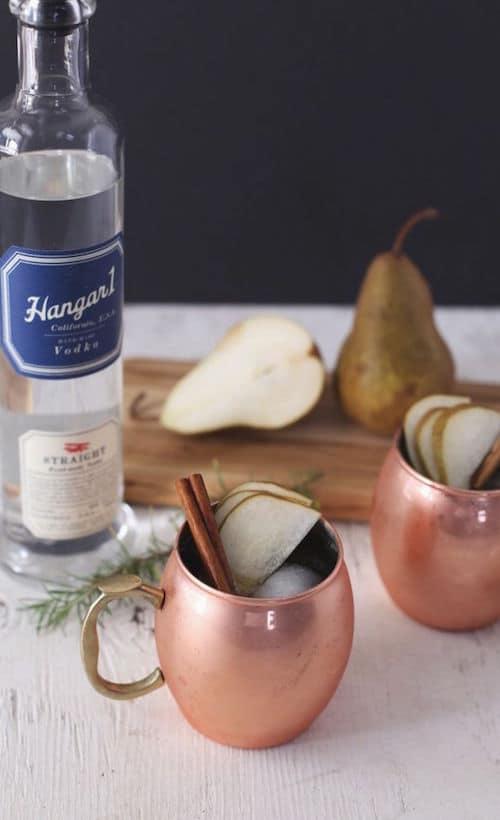 Hangar One Pear Cider Mule Recipe