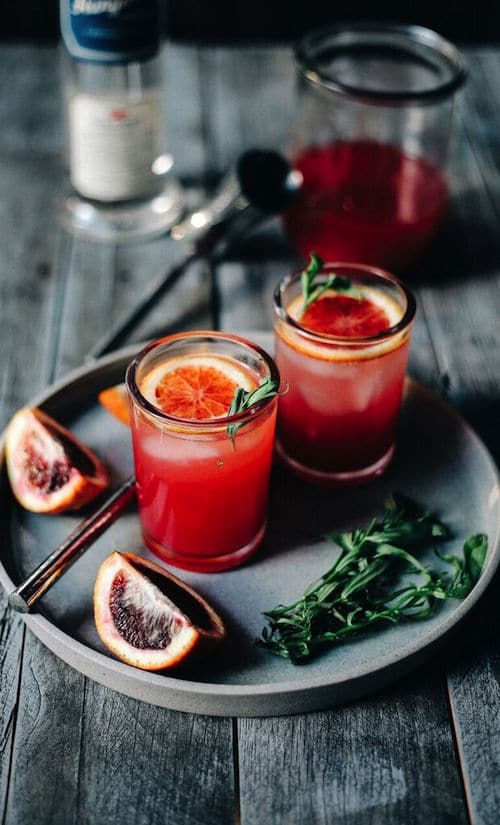 Hangar One Blood Orange Sparkling Vodka Recipe