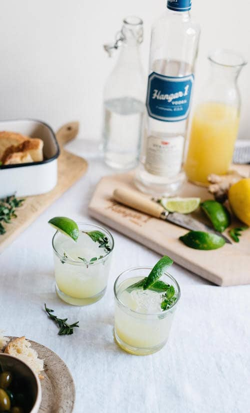 Hangar One Vodka Gingerade Recipe