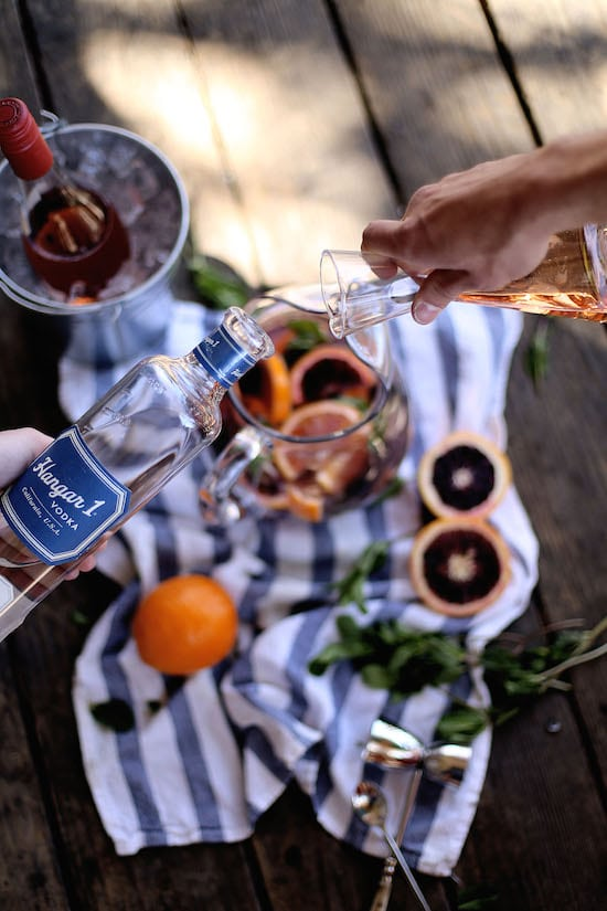 Hangar One Blood Orange Sangria Recipe