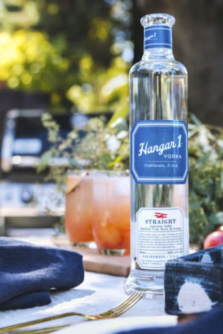 Hangar One Grilled Pluot Cocktail Recipe