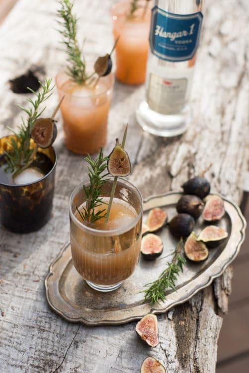 Hangar One Grilled Fig Recipe
