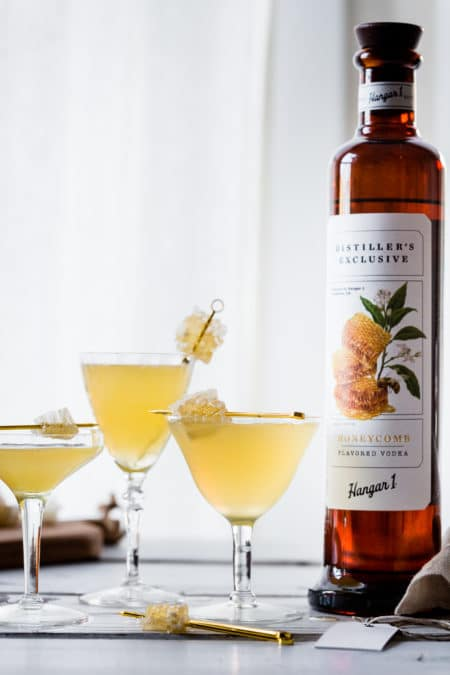 Hangar One Chamomile Honeycomb Gimlet Recipe