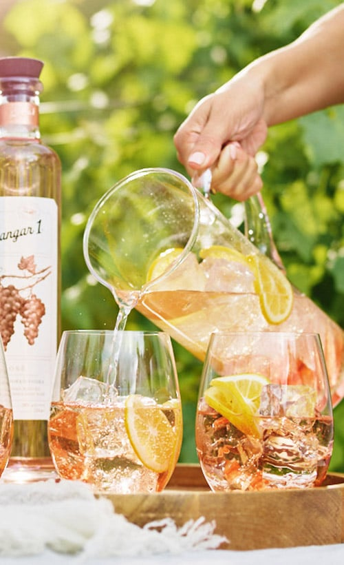 Hangar One Rosé Spritzer Recipe