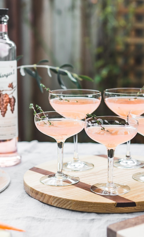 Elderflower Rose Vodka Cocktail Recipe