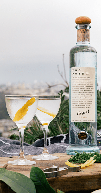 Hangar One Fog Point Vodka Martini Recipe