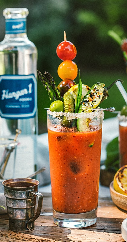 Hangar One Grilled Blood Mary Recipe