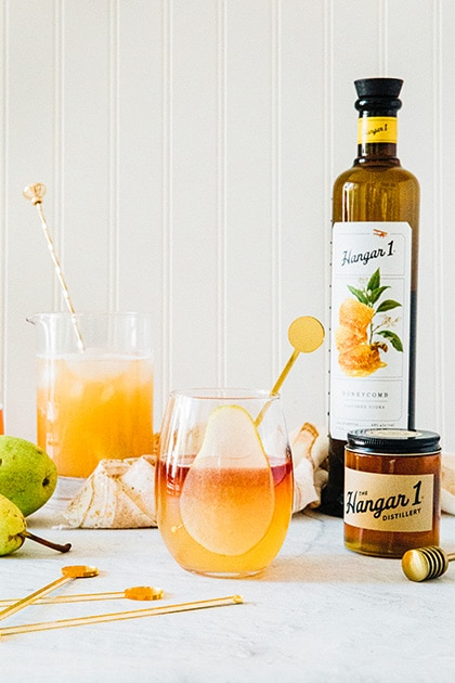 Hangar One Honey Pear Fizz
