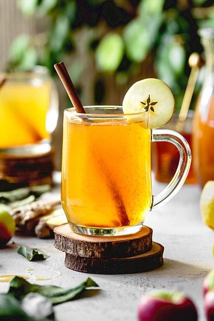 Hangar One Honey Vodka & Apple Cider Hot Toddy