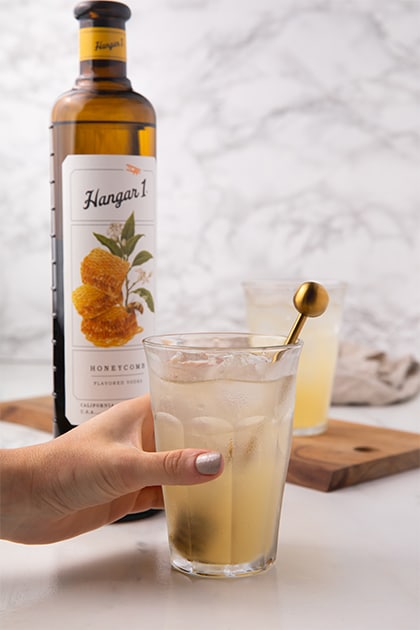 Hangar One Lavender Beekeeper Cocktail