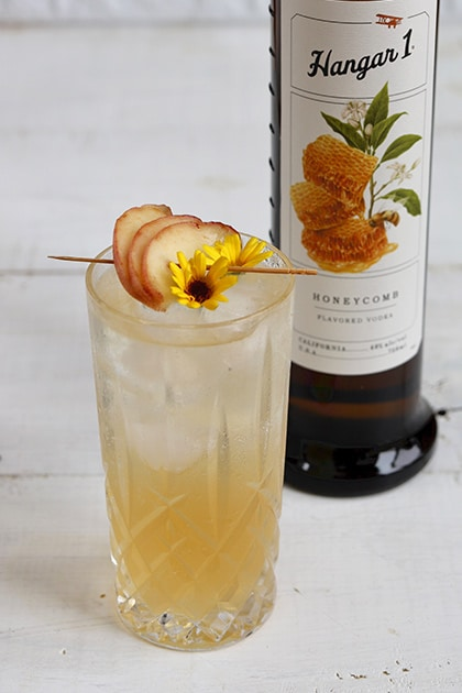 Hangar One Peach Tea Fizz
