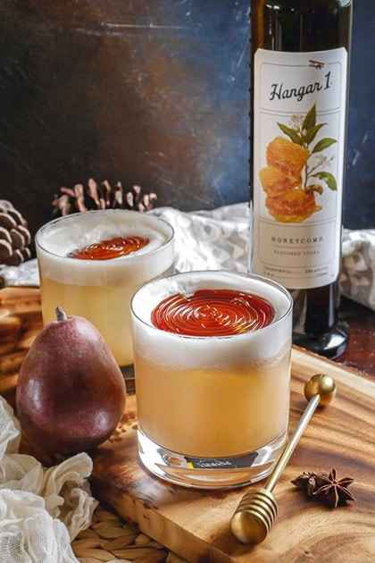 Hangar One Spiced Honey Pear Sours